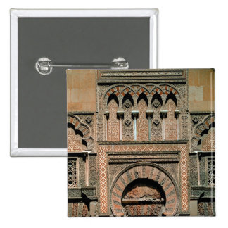 Decorative scheme above the doorway 15 cm square badge