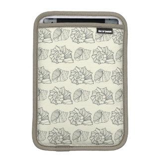 Decorative Shells Pattern iPad Mini Sleeve