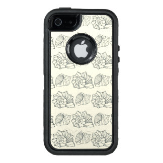 Decorative Shells Pattern OtterBox Defender iPhone Case