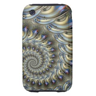 Decorative Spiral iPhone 3 case
