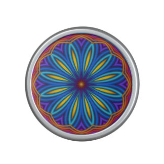 Decorative Starburst Medallion Bumpster Speaker