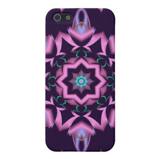 Decorative starry kaleidoscope iPhone 4 speck case