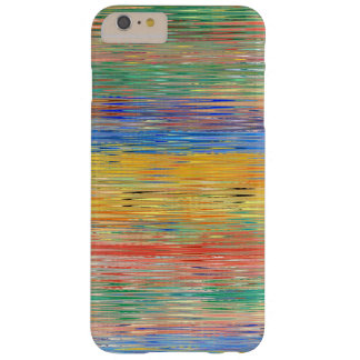Decorative Stripes Mosaic Pattern Barely There iPhone 6 Plus Case