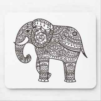 Decorative Style Elephant Mouse Mat