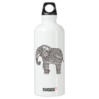 Decorative Style Elephant Water Bottle