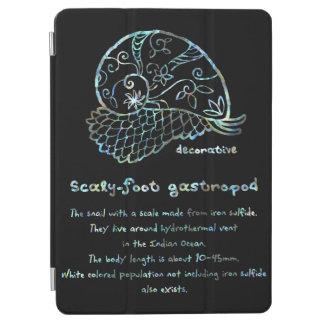 < Decorative sukerihutsuto (white mother-of-pearl iPad Air Cover