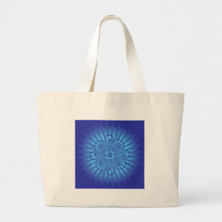 Decorative Swirls / Spirals: Vector Art: Jumbo Tote Bag