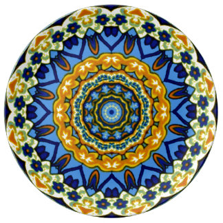 Decorative Talavera meets Country French Plate