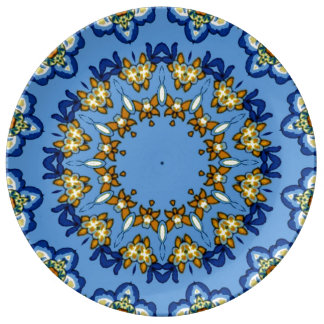 Decorative Talavera meets Country French Plates