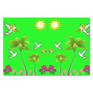 Decorative tissue paper birds