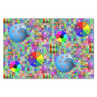 Decorative tissue paper colorful