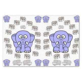 Decorative tissue paper elephants