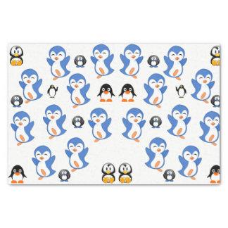 Decorative tissue paper penguiins