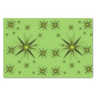 Decorative tissue paper stars
