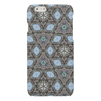 Decorative trendy multicolored pattern iPhone 6 plus case