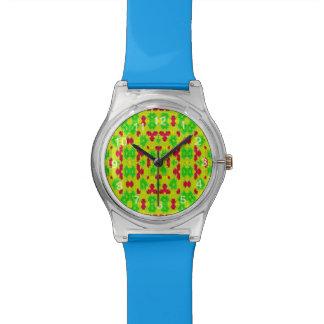 Decorative trendy stylish pattern watch