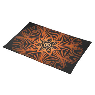 Decorative Two Tone kaleidoscope Placemat