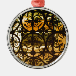 Decorative Typically Spanish Railings Christmas Ornament
