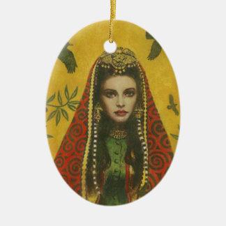Decorative Witch Ornament
