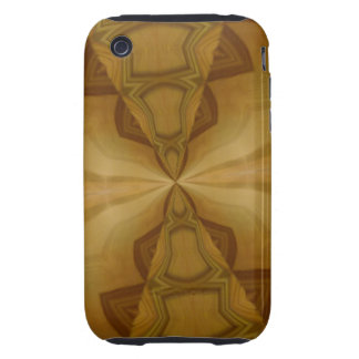 Decorative wood pattern tough iPhone 3 covers