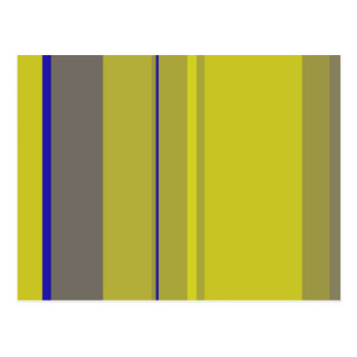 Decorative yellow design by Moma Postcard