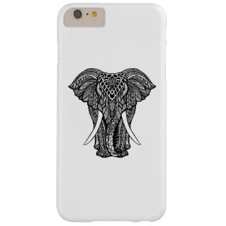 Decorative Zendoodle Elephant Illustration Barely There iPhone 6 Plus Case