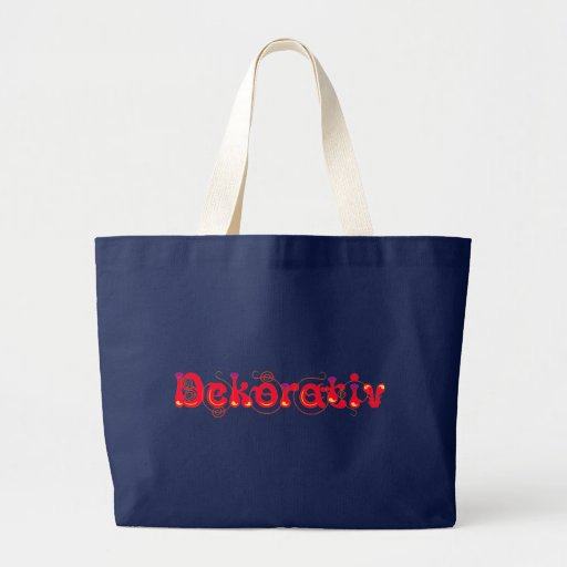 Decoratively Canvas Bags
