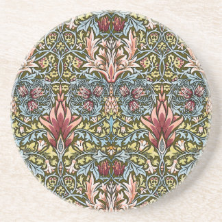Decorator Floral Wallpaper Pattern Vintage Chic Coasters