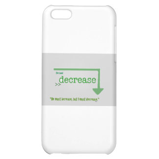 decrease2 cover for iPhone 5C