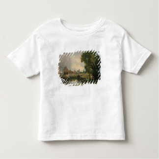 Dedham Lock and Mill, 1820 Toddler T-Shirt