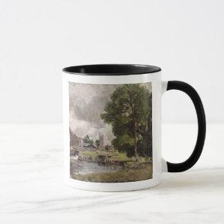 Dedham Lock and Mill Mug
