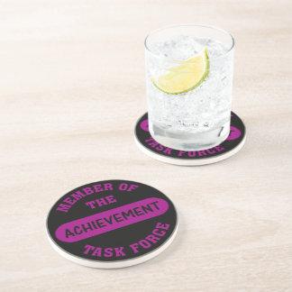 Dedication Association Endorsement Sandstone Coaster