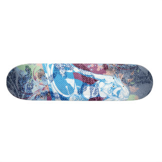 dee jay chic vector sk8 skate board
