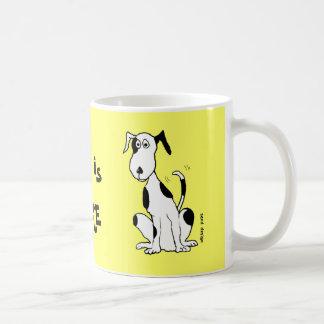 Deefa Dog, my best friend is ... mug