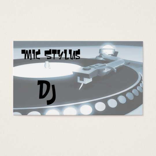 Deejay Business Card