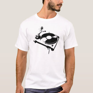 Deejay DJ Turntable T-Shirt | House Music Gifts