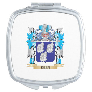Deen Coat of Arms - Family Crest Makeup Mirrors