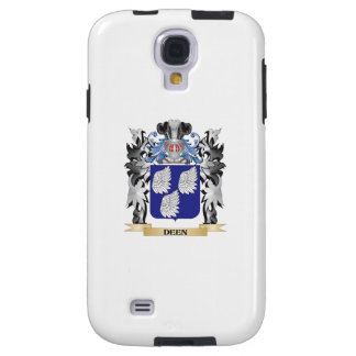 Deen Coat of Arms - Family Crest Galaxy S4 Case