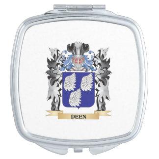 Deen Coat of Arms - Family Crest Makeup Mirror