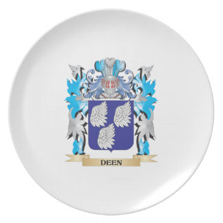 Deen Coat of Arms - Family Crest Dinner Plates