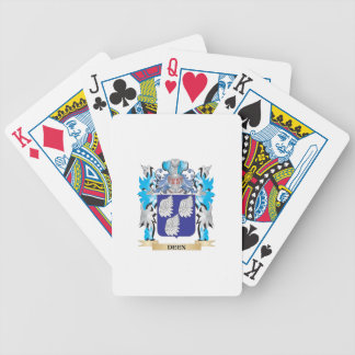 Deen Coat of Arms - Family Crest Playing Cards