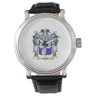 Deen Coat of Arms - Family Crest Wristwatch