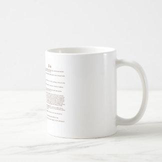 Deen (meaning) coffee mug