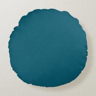 Deep Blue Eternal Reversible Round Cushion