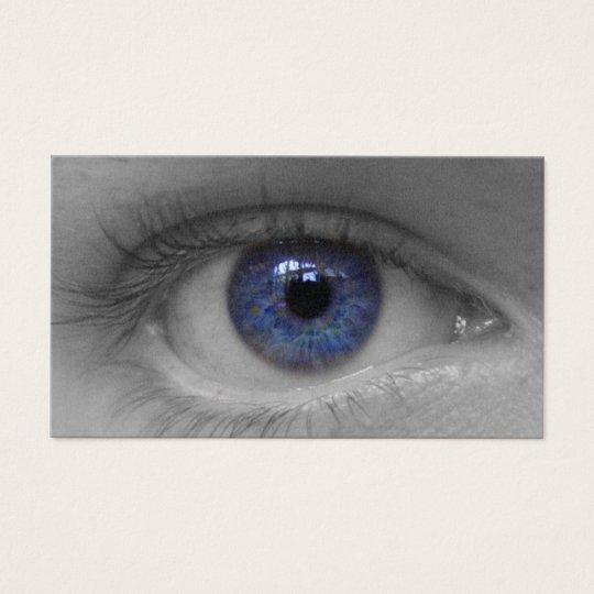 deep blue eye buissnes card