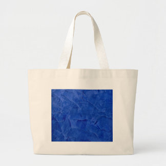 Deep Blue Faux Finish Tote Bags