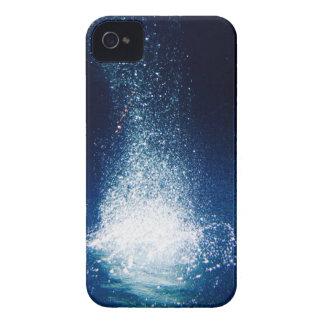 Deep Blue Galaxy Stars iPhone 4 Cover