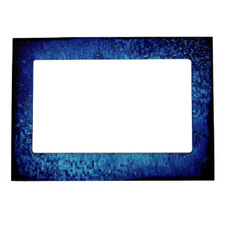 Deep Blue Sea Abstract Magnetic 5X7 Frame