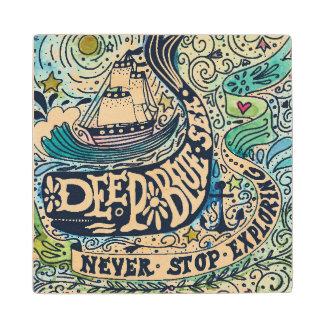 Deep Blue Sea |Never Stop Exploring Wood Coaster