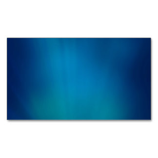 Deep Blue Underwater Glow Magnetic Business Cards (Pack Of 25)
